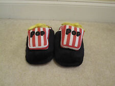Slippers Popcorn size XL Nom Nom bedroom shoes men women new with tags