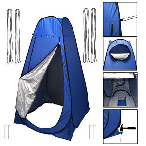 Pop Up Shower Instant Tent Shelter Toilet Beach Camping Outdoor Changing Room Bl