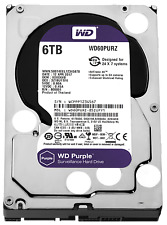 HARD DISK INTERNO 3,5 6TB WD WESTERN DIGITAL IntelliPower PURPLE WD60PURZ