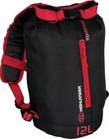 Rockhopper Day Rucksack Backpack Bag Back Pack Travel Duffle Black 12L 20L 30L