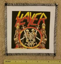 SLAYER AMERICAN THRASH HEAVY METAL CANVAS BAND PATCH