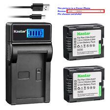Kastar LCD Charger Battery for Panasonic CGR-DU07 CGA-DU07 & NV-GS230 NV-GS250