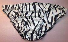 Women Panties,bikinis(vintage) Size 1X Animal Print Made In USA Nylon