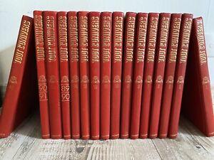 Encyclopédie TOUT L'UNIVERS 16 volumes Le Livre de Paris Hachette XXe