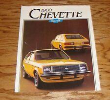 Original 1980 Chevrolet Chevette Sales Brochure 80 Chevy