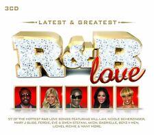 R&B-LATEST & GREATEST 3CD NEUF LIGHTHOUSE FAMILY/STEVIE B/MARVIN GAYE/AARON HALL