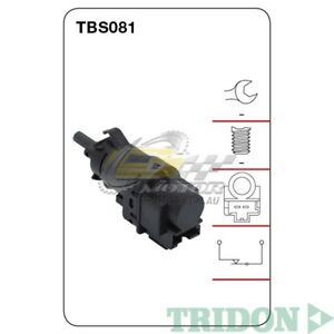 TRIDON STOP LIGHT SWITCH FOR Volvo V60 03/11-06/13 3.0L(B6304T)  TBS081