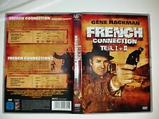 2 DVD RARITÄT   UNGESCHNITTENE  KINOFASSUNG   FRENCH CONNECTION  1 +  2. UNCUT