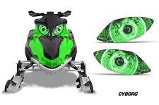 AMR Racing Arctic Cat Firecat Sled Snowmobile Headlight Stickers Eye Graphics CG