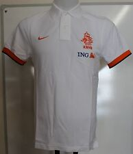 Holland 2012/13 White Polo Shirt by Nike Adults Size Medium With Tags