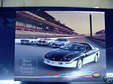 67 69 82 93 CHEVY CAMARO INDY PACE CAR POSTER NEW 2 SIDE