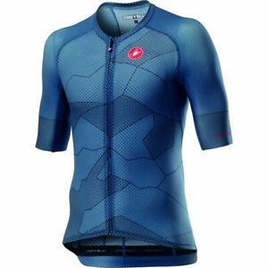 NEW Castelli CLIMBER'S 3.0 Cycling Jersey Light Steel Blue, Size XL