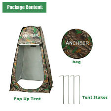 Portable New Privacy Shower Tent Pop Up Toilet Bath Changing Room Camping ER99