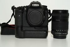 Canon 7d  00006000 Mark i with Battery Grip, 4x Lp E6N Batteries and 18-135 mm Lens Kit