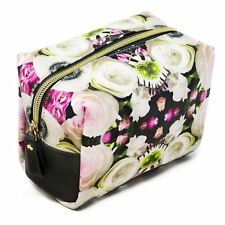 Danielle Creations Bright Floral Roses Boxy Travel Beauty Make-up Bag Gift Idea