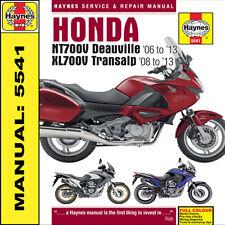Honda NT700 Deauville & XL700 Transalp 2006-2013 Haynes Manual 5541 NEW