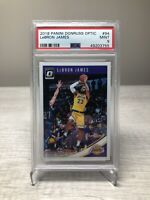 2018 Panini Donruss Optic Lebron James PSA 9 Mint NBA Los Angeles Lakers