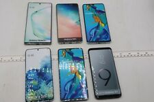 LOT OF 6 FAKE DUMMY PHONES - FOR DISPLAY, PROPS, TOYS, RETAIL ETC (LOT35)