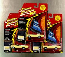 JOHNNY LIGHTNING 1969 CHEVY IMPALA CONVERTIBLE (LOT OF 3) 50 ANNIVERSARY EDITION