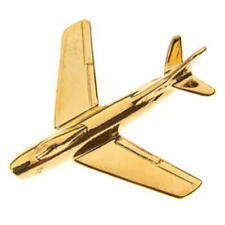 F-86 SABRE Tie Pin -  Gold Plated F86 TiePin Badge