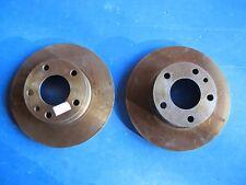 2 Disques de freins ventilés avant Lucas pour BMW Série 5, Série 6, Série 7