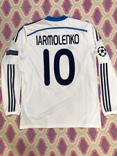 DINAMO KIEV Ucraina MATCH WORN  Maglia Jersey Dynamo Kiev Original Shirt Adidas