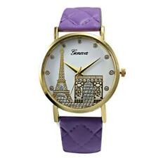 Ladies Fashion Geneva Quartz RoseGold and Paris Eiffel Tower  Band Wrist Watch.