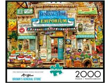 Aimee Stewart Brown's General Store 2000 Piece Jigsaw Puzzle