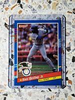 1991 Donruss Baseball All-Star KEN GRIFFEY JR.  Seattle Mariners No. 49