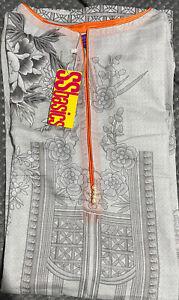 Original Sana Safinaz Printed Khaddar Kurta Maria B Gul Ahmed Khaadi Charizma