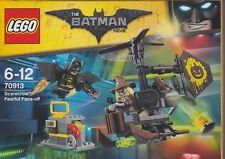 LEGO THE BATMAN MOVIE 70913 SCARECROW FEARFUL FACE OFF New Nib Sealed 2 minifig