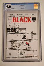 Black #4 Donkey Kong Trump Parody Homage Cover CGC 9.0 Black Mask 2016