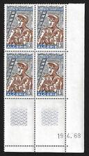 ALGÉRIE 1968 - YT469 - Coin daté - Emigration vers l'Europe