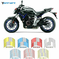 Motorcycle Wheel rim decals tape stripes stickers For Yamaha MT07 ALL YEAR