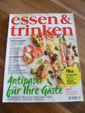 e+t 9/15 Antipasti Carpaccio Pilze Orientküche Backen mit Beeren Cafè Terrassen