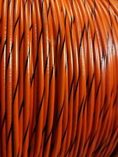 16 Gauge Wire Orange With Black 25 Ft Primary Awg Stranded Copper Power Mtw