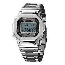 New Casio G-Shock Full Metal Silver 35th Anniversary LTD Watch GMWB5000D-1