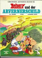 GROSSER ASTERIX BAND XI Asterix und der Arvernerschild - TOP Z1 ERSTAUFLAGE