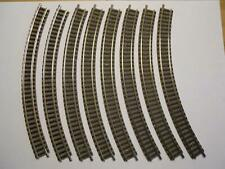 FLM PICCOLO 9125 gebogenes Gleis R2 45° 8 Stück (34470)