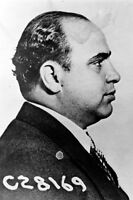 New 5x7 Photo: Mugshot of Gangster Mobster Al Capone, Side View
