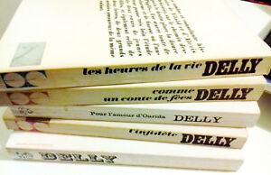 Lot of 5 Livres de DELLY