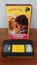 APOCALYPSE DOMANI  - VHS UNIVERSAL SVIZZERA