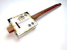 More details for cigar box guitar one string fretless electro acoustic diddly bow