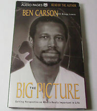 Ben Carson Audio Book 'The Big Picture' - Two Cassette Tapes
