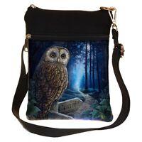 New Lisa Parker Anne Stokes ladies gothic fantasy art wolf cat shoulder bag
