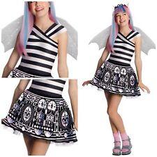 NIP Monster High Rochelle Goyle Child Girls Dress Up Rubie's Costume S  4-6