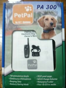 PetPal PA300 Remote Trainer-