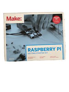 MAKE: Raspberry Pi Getting Started Deluxe Kit  Raspberry PI 2 Board NEW