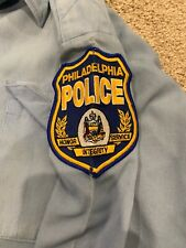 Real Philadelphia Police Uniform Shirt Mens 38