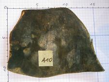 Original Büffelhorn schwarz ca. 11x12x0,4cm für japanische Katana Tanto Nr. A10